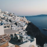 Fira town santorini Royalty Free Stock Photography