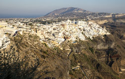 Fira town Stock Photo