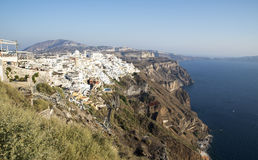 Fira town Stock Image