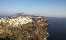 Fira town Royalty Free Stock Image