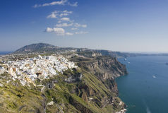 Fira village Royalty Free Stock Images