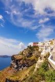 Fira village on Santorini island Royalty Free Stock Photo