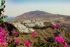 Fira village Stock Images