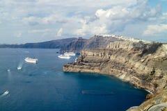 Fira (Santorini) - Greece Royalty Free Stock Photography