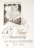 firad minnet av louisiana statehood Arkivbilder
