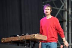 Firawisselmarkt (band) presteert bij het Correcte 2014 Festival van Heineken Primavera Stock Afbeelding