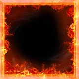 Fire. Flames, framework for picture Royalty Free Stock Images