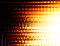 Fire. Conceptual fire background. Black and orange waves Stock Photos