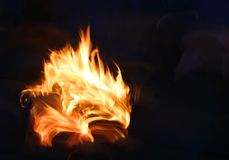 A Fire Stock Photography