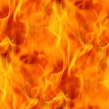 Fire. Seamless Texture Tile from Photographic Original Royalty Free Stock Photo