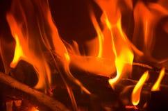 Fire. Burn, fire, fireplace, fireside, fire-wood, hause, heating, start, warm, warming, winter, wood royalty free stock photo