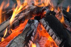 Fire. It's a photo of fire Royalty Free Stock Photos