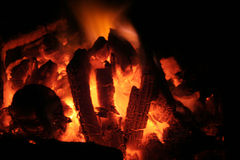 Fire. Warm fire Royalty Free Stock Image