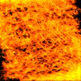Fire. Abstract Fire and Flames background Stock Images