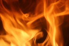 Fire. Flames background Stock Photography