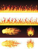 Fire. Stock Images