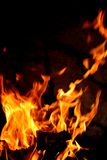 Fire. A nice fire in a fire place Royalty Free Stock Photography