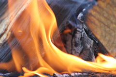Fire. Small place close shot sweden Royalty Free Stock Images