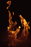 Fire 3.jpg. Dancing fire Royalty Free Stock Photography