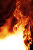 Fire. Realistic fire with copy space Royalty Free Stock Photo