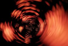 Fire. Tunnel Royalty Free Stock Photography