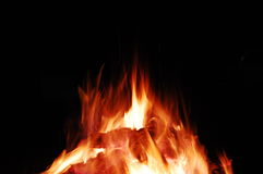 Fire. Man made fire for a orthodox tradition stock images