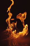 Fire 4.jpg. Two flames Royalty Free Stock Photos