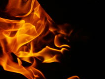 Fire. Flame Stock Photography