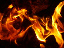 Fire. Flame Royalty Free Stock Image