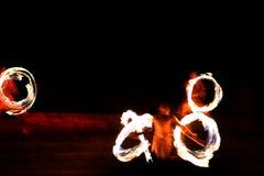 Fire0 & 8 Fotografia Stock Libera da Diritti