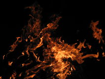 Fire. Burning Fire Royalty Free Stock Images