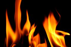Fire stock photo