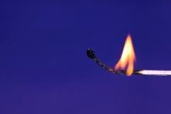 Fire. Match, fire stock photo