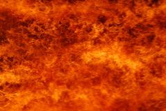 Fire. Roaring fire background in bright orange Royalty Free Stock Photos