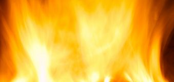Fire. Blast of fire orange yelow color flaming Stock Photo