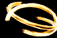 Fire. Show, a line a flame Stock Images