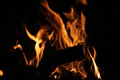 Fire. Flames Stock Photo