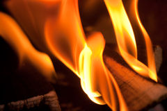 Fire Abstract Royalty Free Stock Images