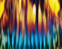 Fire abstract royalty free illustration