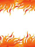 Fire abstract. Detail of fire abstract background Stock Photography