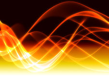 Fire abstract background. 3d abstract colorful fractal background Stock Images