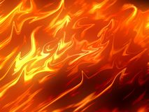 Fire abstract background. Art fire abstract pattern background Stock Image