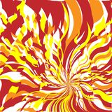 Fire Abstract Background. Bright Red and Orange Fire Abstract Background, Flame Pattern, Stylized Fire, Fire Sign Background, Sunlight Abstract Orange Wave Royalty Free Stock Images