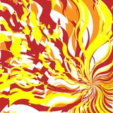 Fire Abstract Background Stock Photography