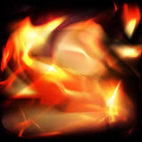 Fire abstract background Royalty Free Stock Images