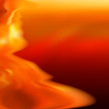 Fire abstract background template. EPS8 Royalty Free Stock Images