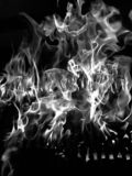 Fire abstract,black and white tone royalty free stock images