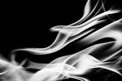 Fire Abstract, Black and White Tone Royalty Free Stock Photo