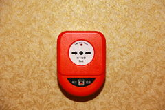 Fire alarm Royalty Free Stock Image