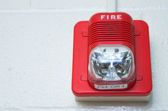 Fire Alarm. A fire alarm mounted on a wall Royalty Free Stock Photography